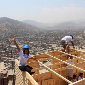 Konstruktion in Peru